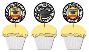 free printable graduation topper template