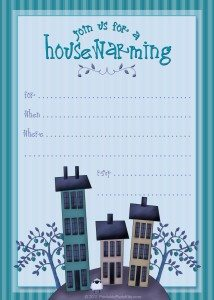 Free printable housewarming artwork