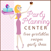 Free party printables, recipes and more