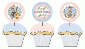 free Easter cupcake picks