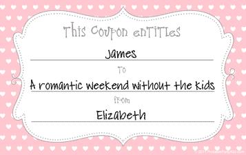 free printable love certificate