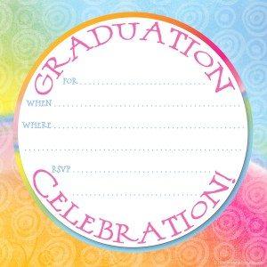 free graduation party invitations