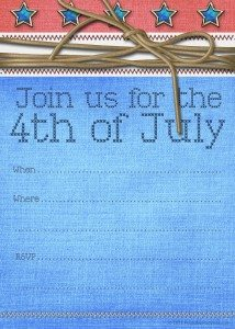 free printable July 4th artwork